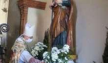 Zibello, un gesto simbolico per chiedere la grazia per la comunità di fedeli